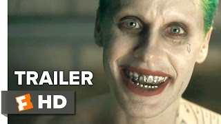 Suicide Squad Comic-Con Trailer (2016) - Jared Leto, Will Smith - DC Comics Movie