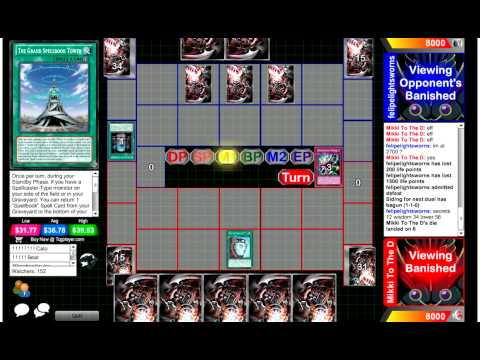 Competitive Yugioh Duels - Prophecy Vs S Knights - Spellbooks Are Boring But They Still Win video