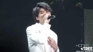 "150221 INFINITE JAPAN TOUR DILEMMA in Tokyo - INFINITE WOOHYUN 우현 ""함께ハムケ(together)"""