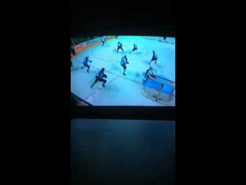 Winnipeg Jets vs San Jose Sharks 10/11/2014 part 6