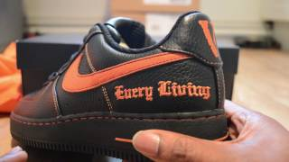 VLONE x Nike Lab Air Force 1 vlog + Review! Listen to what he says when I chat to the man himself!