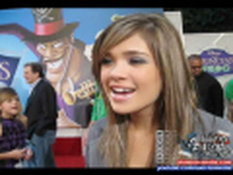 Disney Stars at the Princess & the Frog Premiere