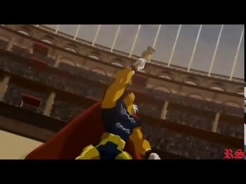Hulk Vs Beta Ray Bill  (Bill Raio Beta) (HD 720p)