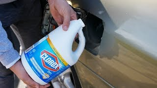 What Happens If You Fill Up A Car With Bleach