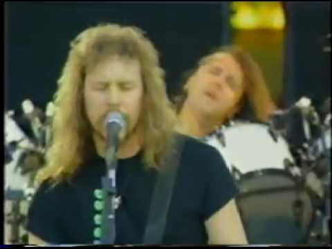 Metallica - Freddie Mercury Tribute - FULL SET - 1992 Wembley Stadium, London Music Videos