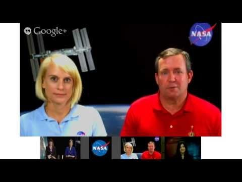 NASA Google+ Hangout Discusses Newest Space Explorers