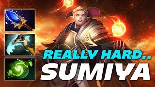 SumiYa Invoker vs Agressif Zeus | REALLY HARD GAME.. | Dota 2 Pro Gameplay