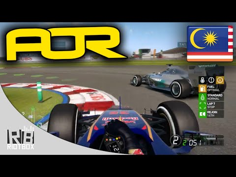 F1 2014 AOR League: Malaysia Highlights (Season 9 Split 2 - PC)