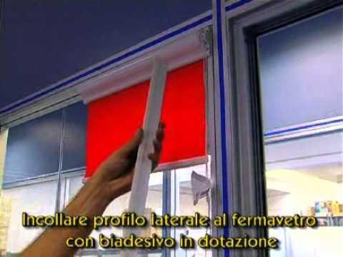 Come si installa una tenda per finestra a vetro youtube - Tende da finestra a vetro ...