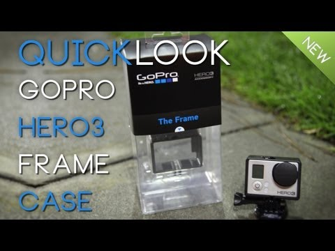 Quicklook: GoPro Hero3's Frame Case AKA Naked Case
