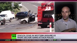 'On combat alert': Right Sector refuses to lay down arms after shootout in western Ukraine