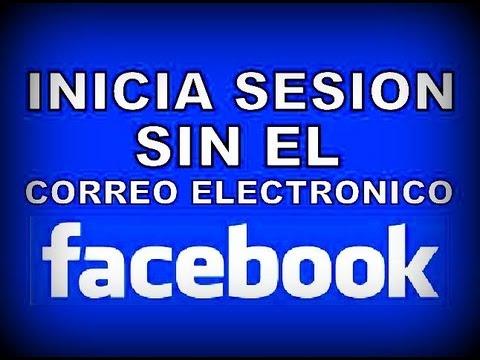 Como Iniciar Sesion en Facebook sin Correo Electronico