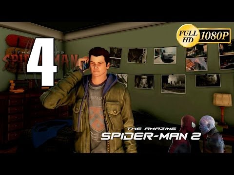 The Amazing Spiderman 2 Walkthrough Parte 4 Gameplay Español PC PS4 XboxOne 1080p (2014 Video Game)