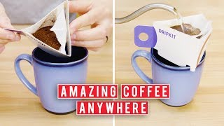 Pour Over Coffee On The Go | Dripkit