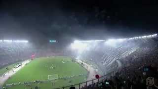 RECIBIMIENTO ESPECTACULAR DE RIVER PLATE VS ATLETICO NACIONAL