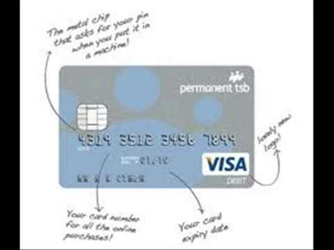 Card Number on Visa Debit Visa Debit Card