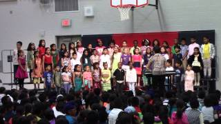 Grade 1 Choir - Japanese Frog Song & Two Tigers - Asian Heritage Assembly