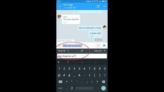 [ Android] Cách phiên dịch tự động khi chat với người nước ngoài 2017