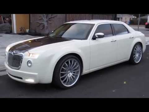 TWO TONE CHRYSLER 300 WITH CUSTOM BODYKIT