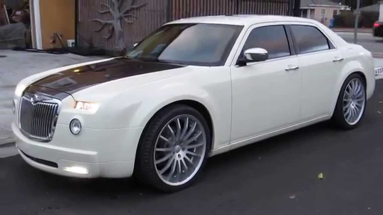 Two Tone Chrysler 300 With Custom Bodykit Youtube