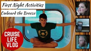 CRUISE LIFE VLOG: Carnival Breeze: First Night Activities - Day 1 Part 3