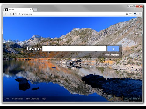 How to get rid of Tuvaro home page virus.