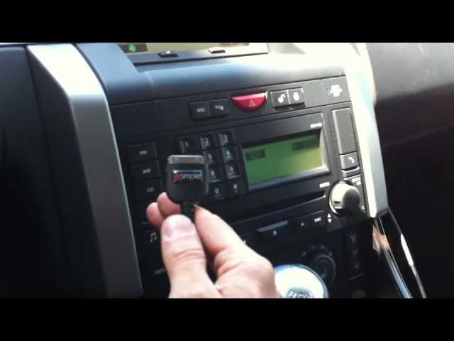 2008 Range Rover Sport ipod Aux Isimple Charger ... - YouTube