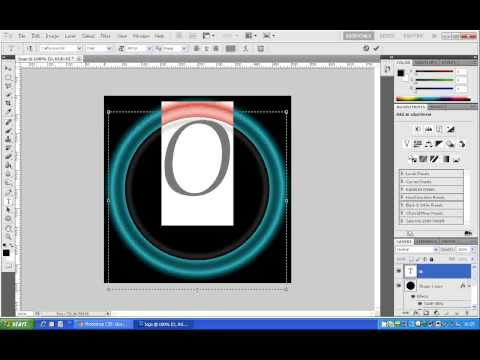 How To Make A Glossy Logo Photoshop video