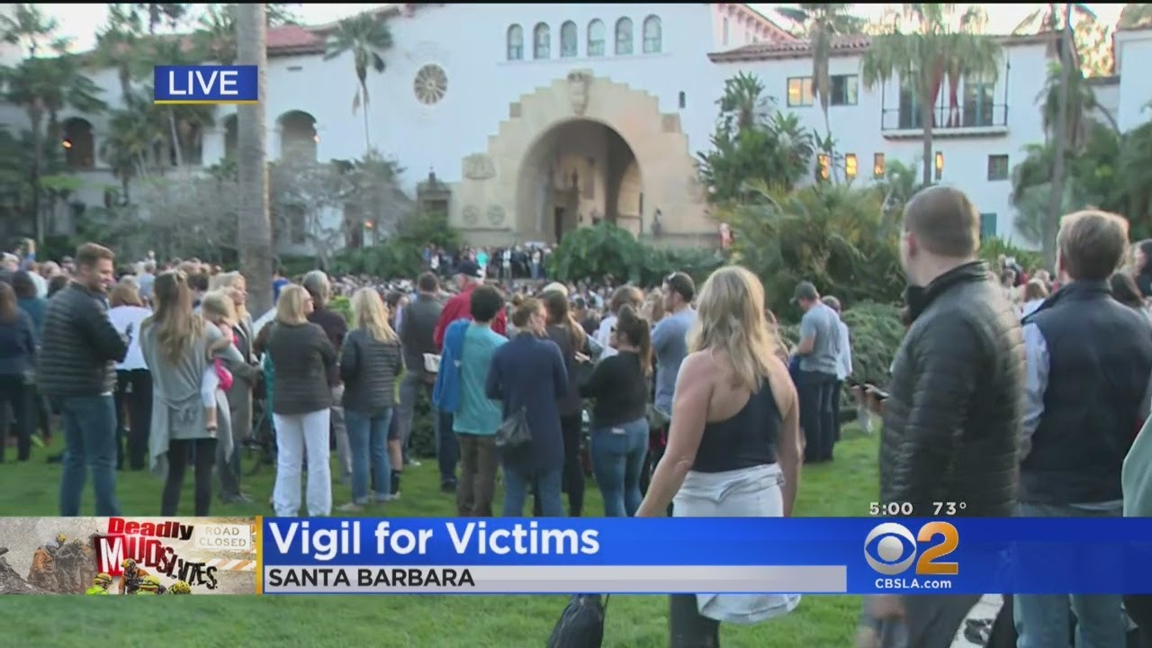 Vigil Being Held For Victims Of Montecito Mudslides
