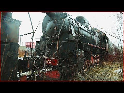 Забытые паровозы и поезда / Abandoned  Russian trains