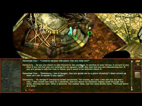 Planescape: Torment (Gameplay #2) - Ghost of Perdition