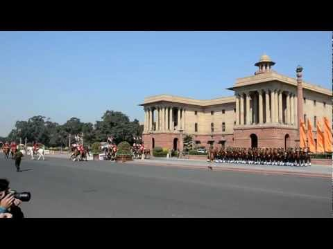 Change of Guard Ceremony at Rashtrapati Bhawan, New Delhi