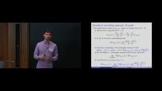 Nicolas Perkowski - Game-theoretic martingales and applications to model free financial mathematics