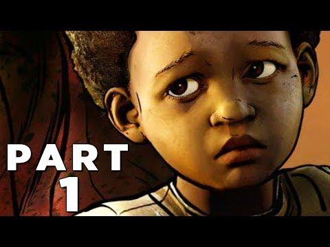 THE WALKING DEAD THE FINAL SEASON Walkthrough Gameplay Part 1 - CLEMENTINE (Season 4 Episode 1)