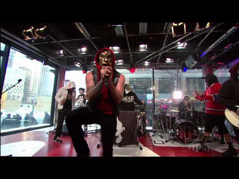 Hollywood Undead - Hear Me Now (Live @ MusiquePlus Montreal, 2013)