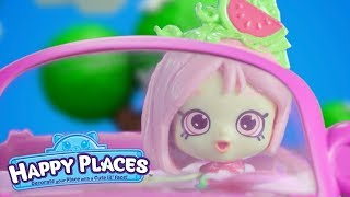 Shopkins Happy Places - The Lil' Shoppies of Happyville- Hashtag House Goals - Cartoons for Children