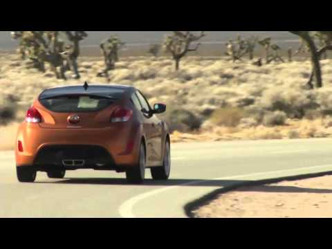 Тест драйв Hyundai Veloster 2012 года