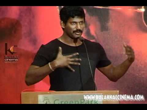 Vishal Speech At Vedi Movie Press Meet video