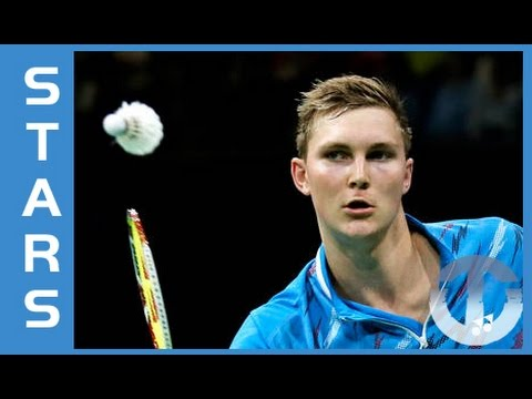 Badminton Star Viktor Axelsen on Trans World Sport