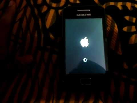 iOS 5 ROM on Samsung Galaxy ACE GT-S5830 Full Review