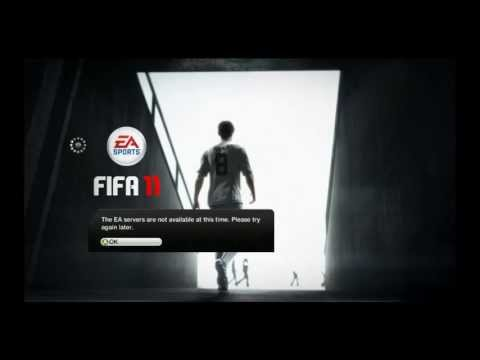 FIFA 11 problem multiplayer gameranger