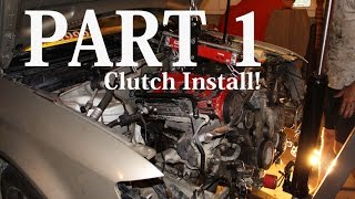 Stage 1 Clutch Install - Audi A4 | Part 1