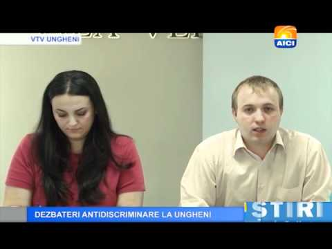 Dezbateri antidiscriminare la Ungheni