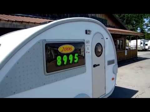 2006 Dutchmen T@B T3 Retro Style Teardrop camper , 1400 Pounds, $8,995