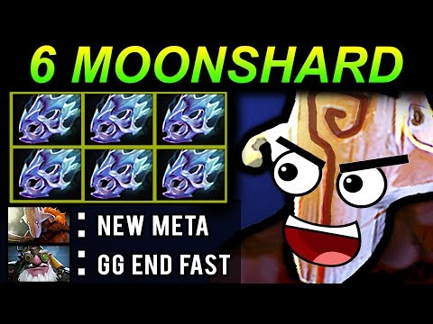 6 MOONSHARD JUGGERNAUT - DOTA 2 PATCH 7.07 NEW META PRO GAMEPLAY