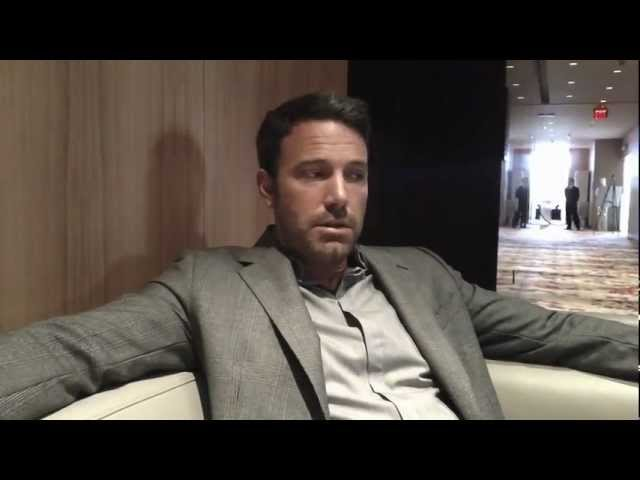 Ben Affleck and the challenges of making Argo