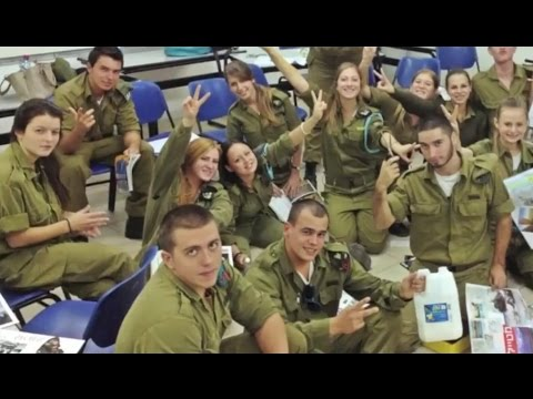 IDF soldiers integration course (Israel Defense Forces Israeli army Israel military soldiers)