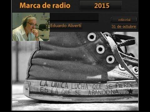 "Eduardo Aliverti ""La venganza será terrible""audio editorial (31/10/2015)"