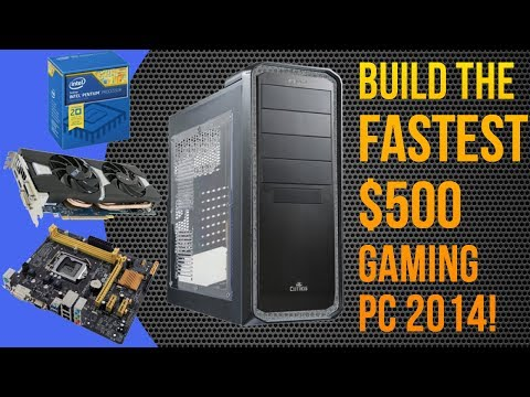 BUILD THE FASTEST $500 GAMING PC AUGUST 2014! (Pentium G3258. Radeon R9 280) CONSOLE KILLER!