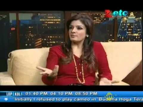 Raveena Tandon With Komal Nahta